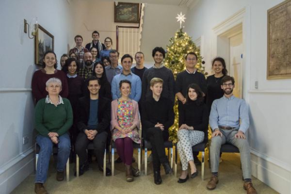 Christmas at Ertegun House