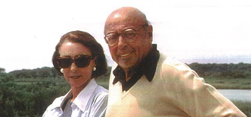Mica and Ahmet Ertegun