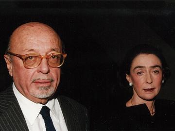 Mr and Mrs Ertegun